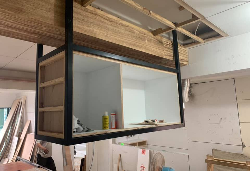 室內裝修木作結合系統門片